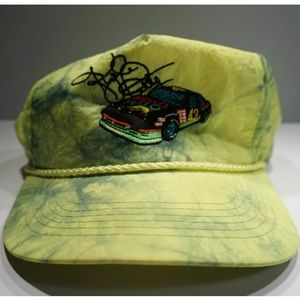 VTG 90s Mellow Yellow Kyle Petty Neon Nascar Hat